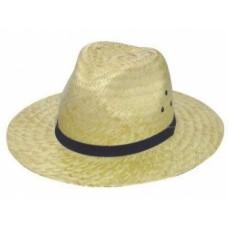 Chapéu de Palha Golf Agroeira com arame e ilhós